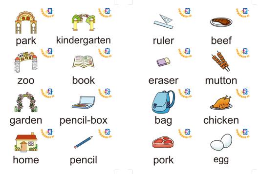 单词卡片,不仅教会孩子读,还让孩子认,为小升初打下良好的英语基础!